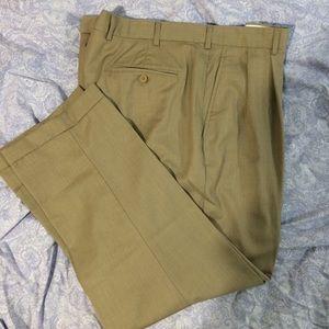Other - Jos A Banks men's size W42 L29 tan wool pants